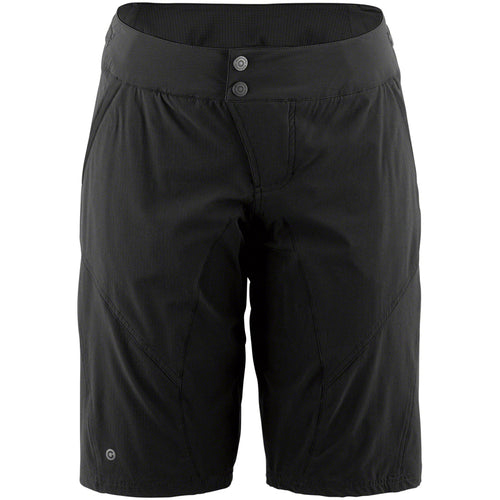 Garneau Dirt 2 Women's Shorts, Black