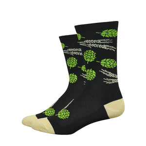 "DeFeet Aireator 6"" Hops and Barley Socks"