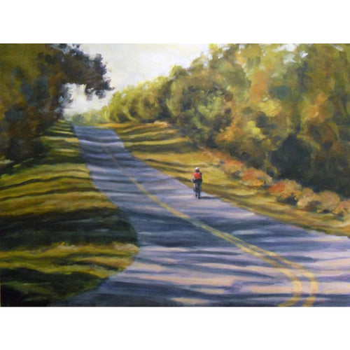 Afternoon Ride - Matted Print of Original Work by Angelo Cane