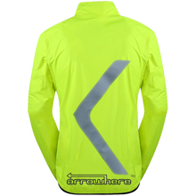 ArroWhere Women's Lightweight High Visibility Reflective Bicycling Jacket