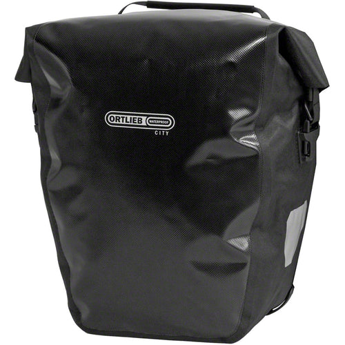 Ortlieb Waterproof Back-Roller City Panniers (Pair) Black