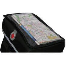 Banjo Brothers Quick-Release Waterproof Large Handlebar Bag with clear map pocket
