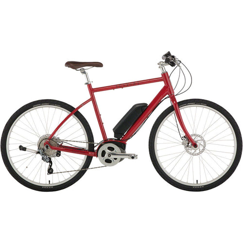 Civia Cycles North Loop eBike, Aluminum, Red