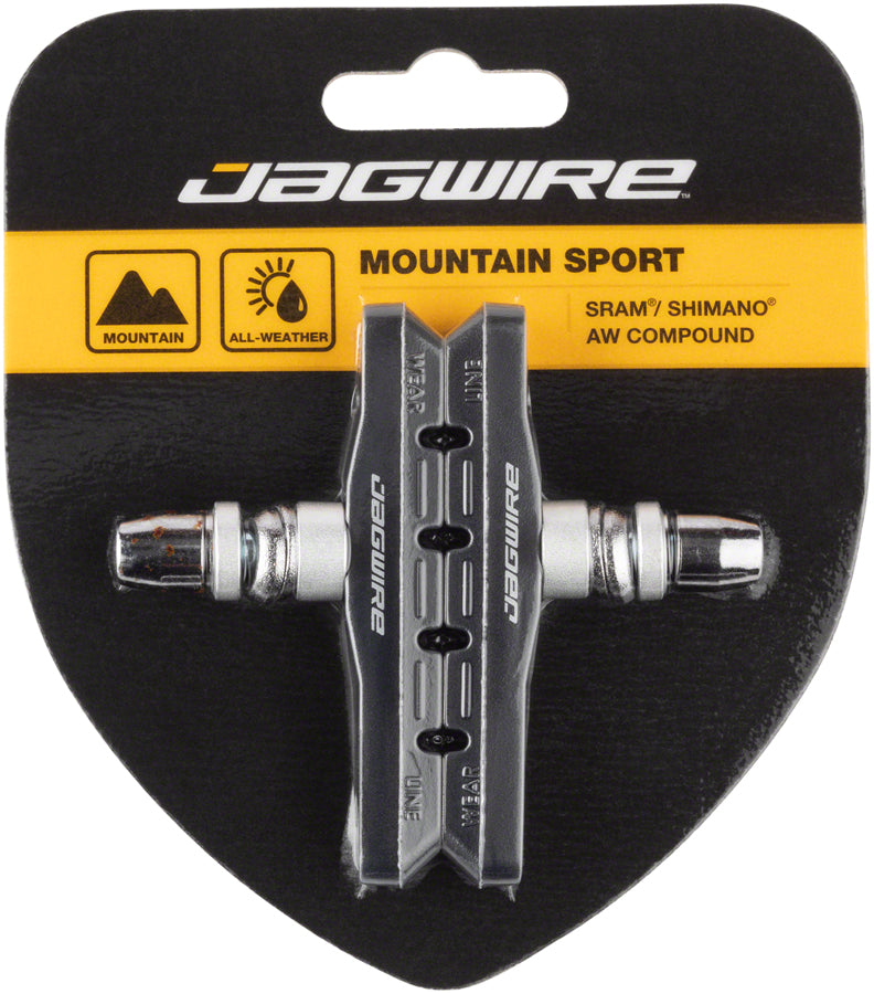 Jagwire Mountain Sport Brake Pads Threaded Post pair