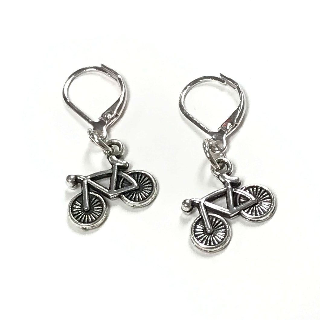 Bicycle Dangle Earrings