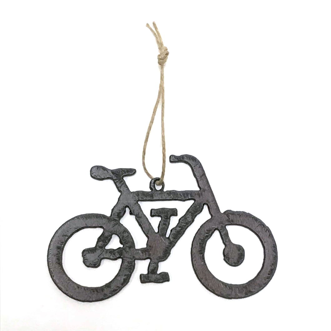 Rustic Bike Ornament