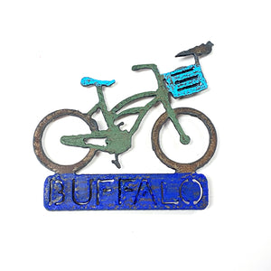 Bike Magnets - Buffalo, Large