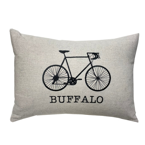 City Bike Pillow
