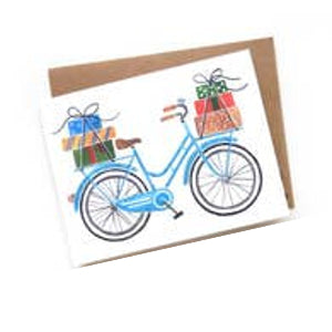 Gifts Bike Card