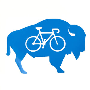 Bike Buffalo Decal