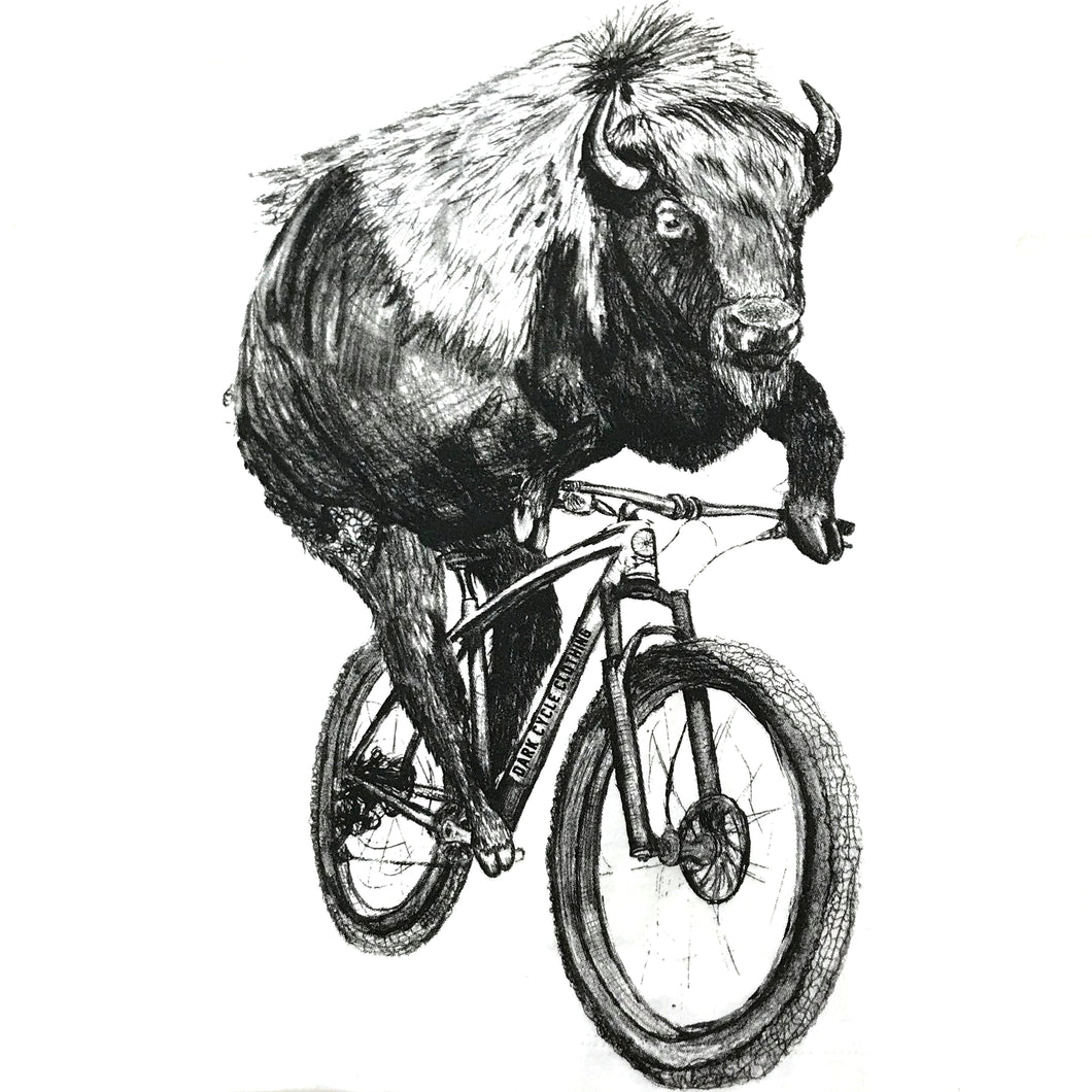 Buffalo on a Bicycle T-Shirt, Kid's