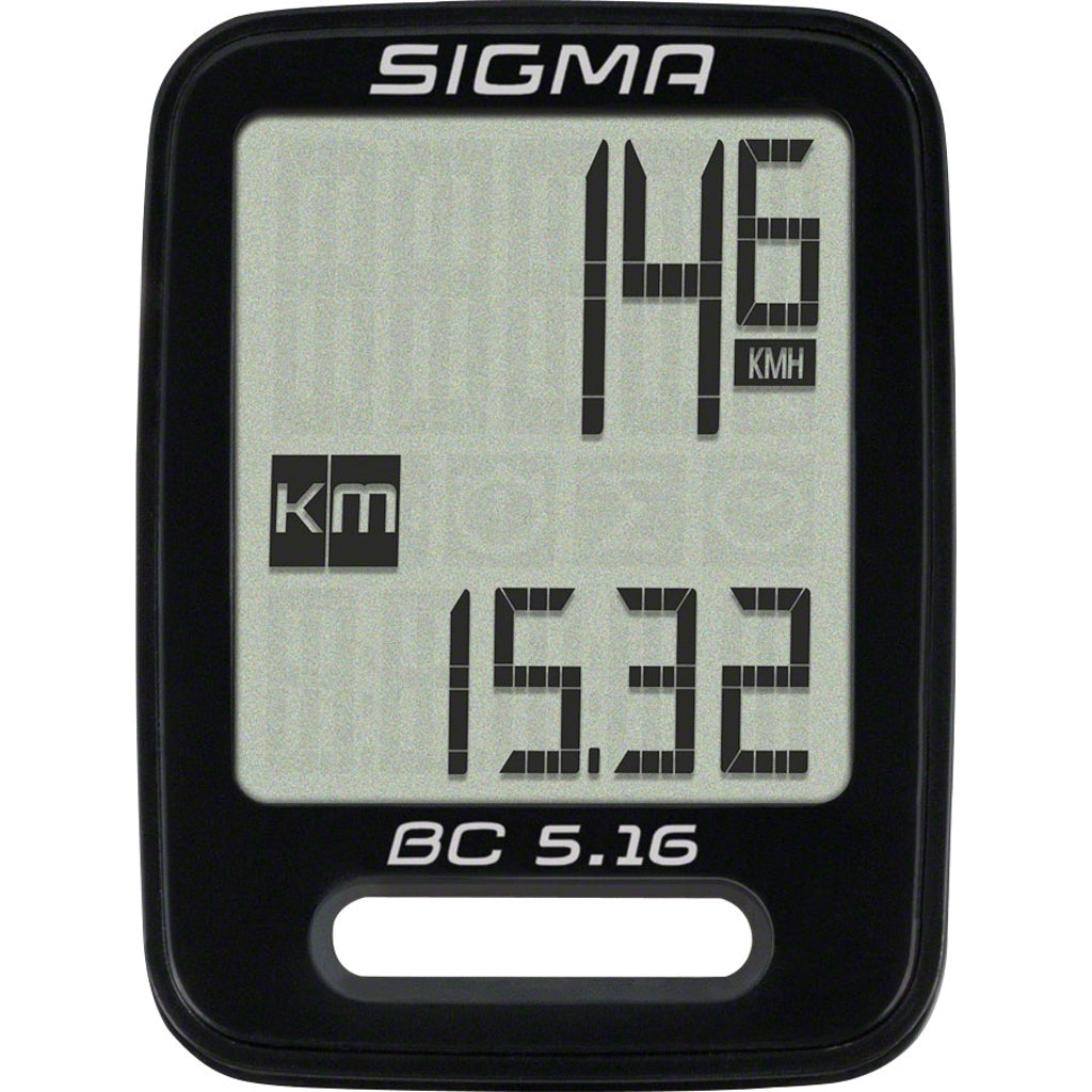 Sigma BC 5.16 Waterproof Wired Cycling Computer
