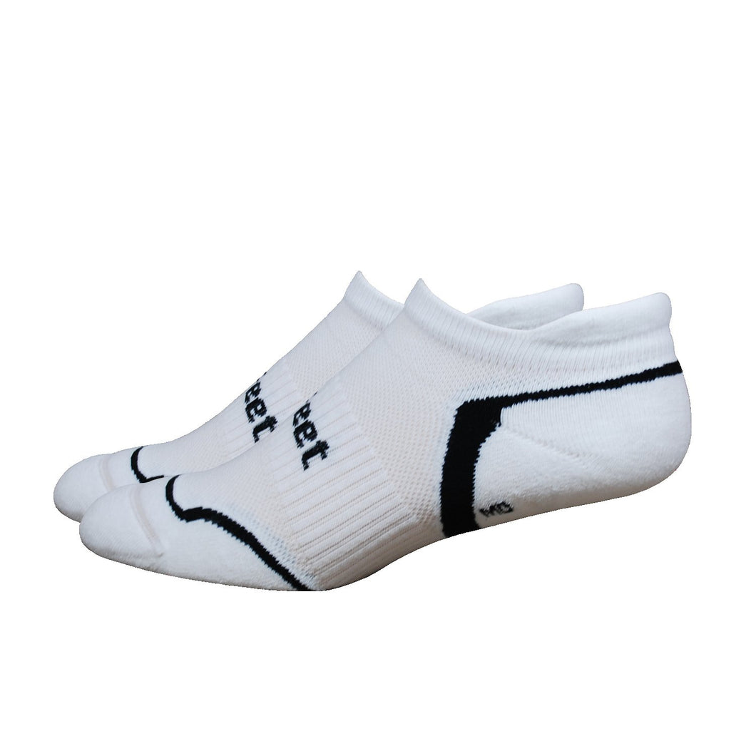 DeFeet D-Evo Tabby White with Black Socks