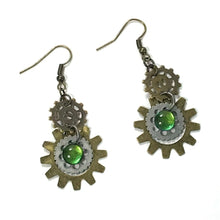 Sunburst Nail Polish Multi-Gear Earrings