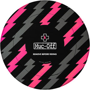 Muc-Off Disc Brake Covers, Black / Pink