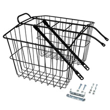 Wald Twin Rear Carrier Metal Basket