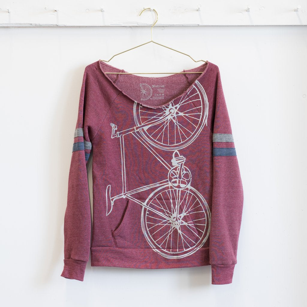 Fixie Bike Sweatshirt