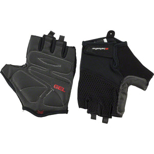 Bellwether Gel Supreme Black Short Finger Biking Gloves