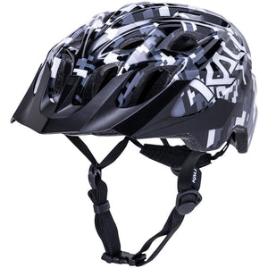 Kali Protectives Chakra Youth Helmet - Pixel Black, One Size