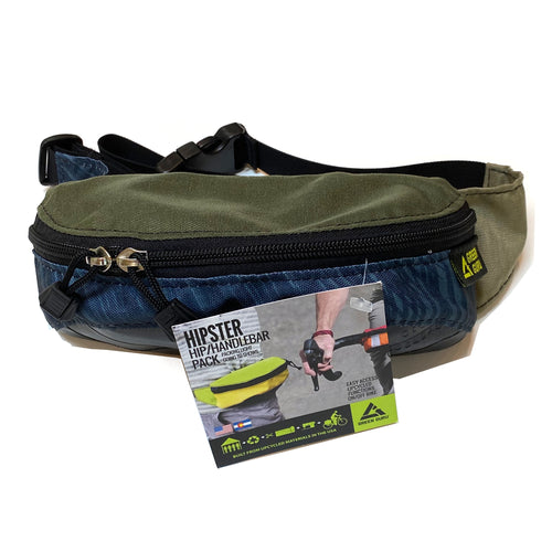 Green Guru Hipster Hip and Handlebar Pack