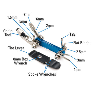 Park Tool IB-3 I-Beam Mini Folding Multi-Tool
