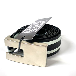 Double White Striped Bicycle Tire Belt