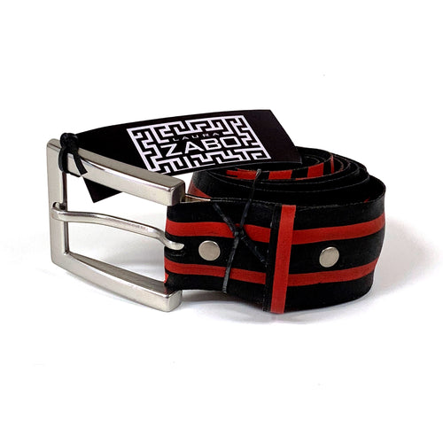 Red Stripes Bicycle Tire Belt