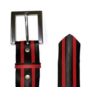 Red Stripes Bicycle Tire Belt (Closeout)
