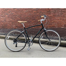 Civia Cycles Lowry 7-Speed Step-Over Bike - Black Jelly Bean