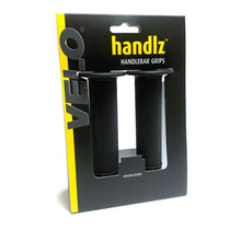 Velo handlz Micro Diamond Handlebar Grips with Flange Black