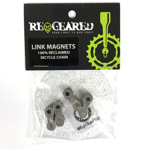 Bike Chain Link Magnets Set of 4