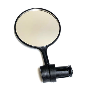 Safey Mirror Bar-End Mount with Reflector on back