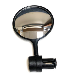 Safey Mirror Bar-End Mount with Convex lens