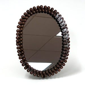 Oval Bicycle Chain Mirror