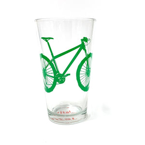 Mountain Bike Pint Glass
