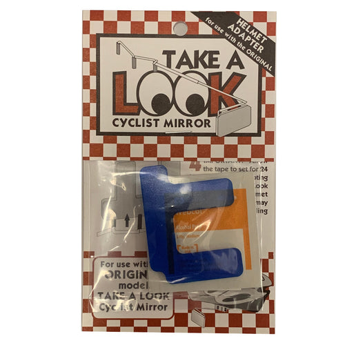 Take A Look Cyclist Eyeglass Mirror Helmet Adapter
