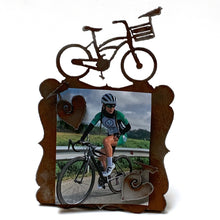 Rustic Bike Picture Frame