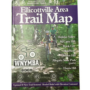 Ellicottville Area Trail Map by WNYMBA