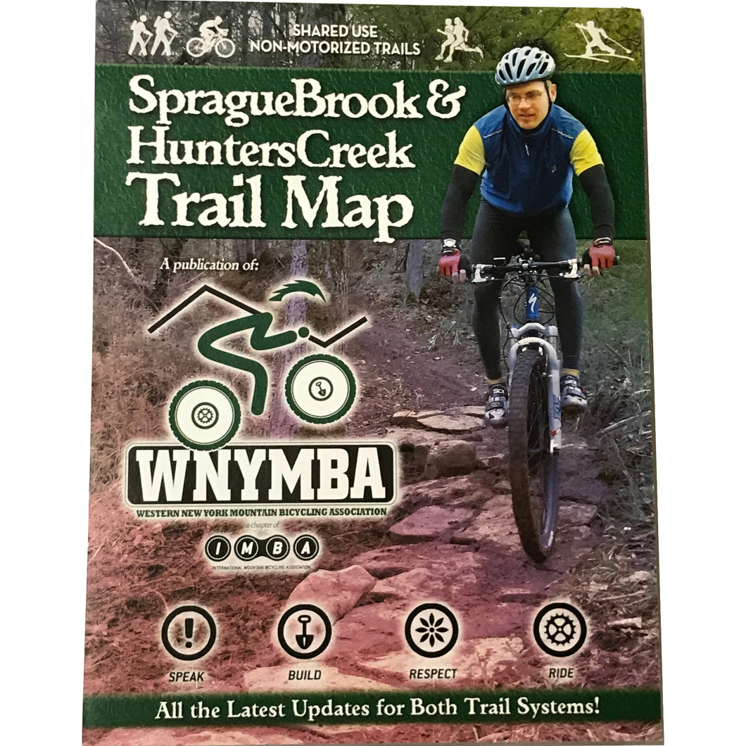Sprague Brook & Hunters Creek Trail Map by WNYMBA