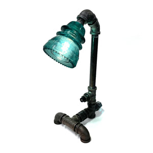 Insulator Glass Steampunk Standard Lamp