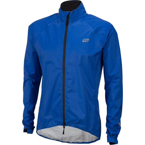 Bellwether Men's Aqua-No Compact Waterproof Biking Jacket Cobalt