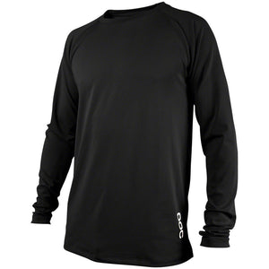 POC Essential DH Jersey Carbon Black Long Sleeve Men's