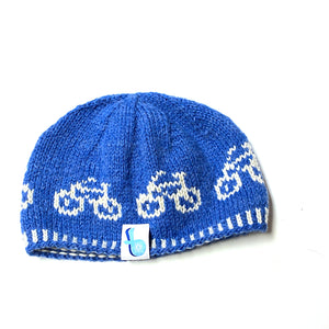 Just The Bike Hand-Knit Hat