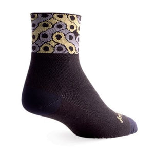 "SockGuy Links 3"" Bicycle Chain Link Socks"