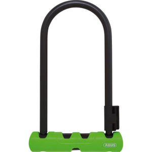 Abus Ultra 410 Keyed U-Lock with Mounting Bracket