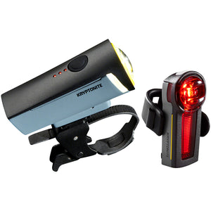 Kryptonite Incite X3 Headlight, XR Taillight Set