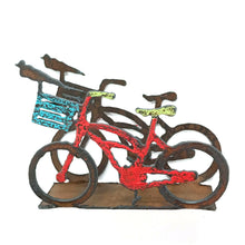 Metal Bicycle Letter Holder
