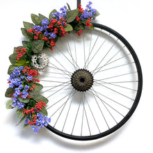 Bicycle Wheel Wreath Year-Round - Large