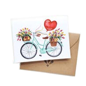 Love Bike Card
