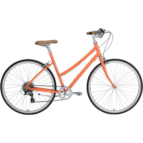 Civia Cycles Lowry 7-Speed Step-Thru Bike - Orange